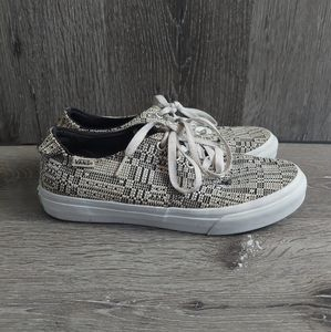 Vans Camden Deluxe Optical Woven Shoe  Sneaker 7.5